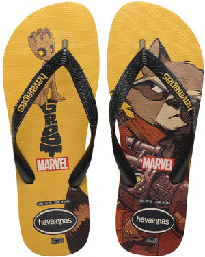 Havaianas Kids Top Marvel Banana Yellow - shaymartian