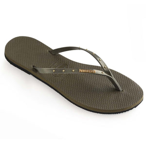 Havaianas Womens You Maxi Dark Khaki - shaymartian