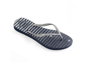 Havaianas Womens Slim Oceano Navy Blue - shaymartian