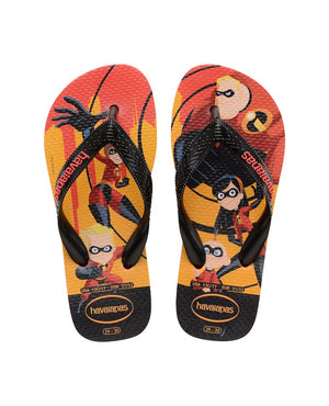 Havaianas Kids OS Incriveis 2 Red - shaymartian