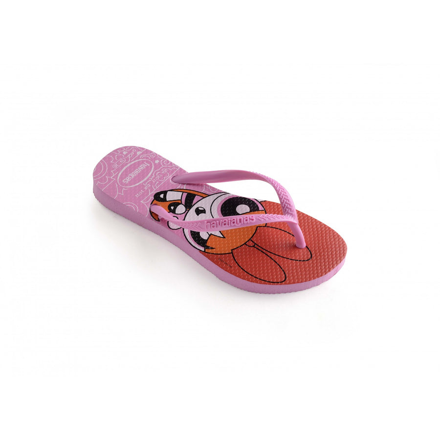 Havaianas Kids Slim Powerpuff Girl Lip Rose - shaymartian