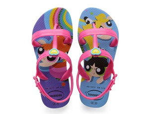 Havaianas Kids Joy Powerpuff Girls Purple - shaymartian