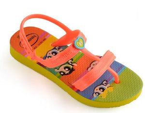 Havaianas Kids Joy Powerpuff Girls Citrus Yellow - shaymartian