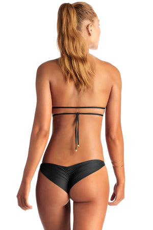 Vitamin A Samba Ruched Back Bottom (Brazilian Cut)
