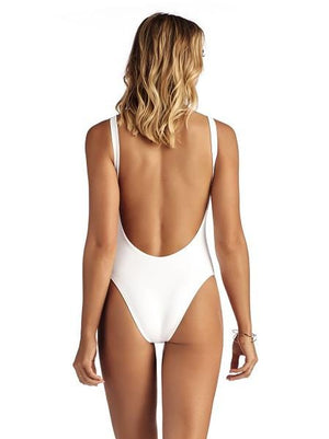 Vitamin A White Leah Bodysuit