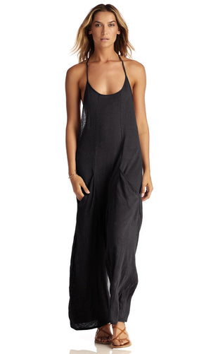 Vitamin A Black Gemini Jumpsuit