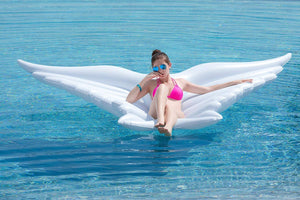 Giant Inflatable Angel Wings - shaymartian