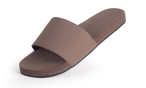 Indosole Women's ESSNTLS Slide Soil - shaymartian