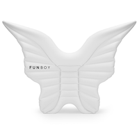FunBoy Angel Wings Float White - shaymartian