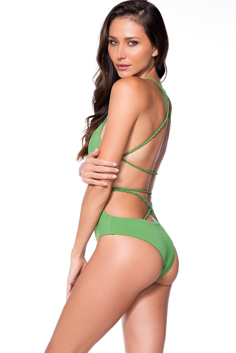 AYRA SWIM PANAMA ONE PIECE EMERALD - shaymartian