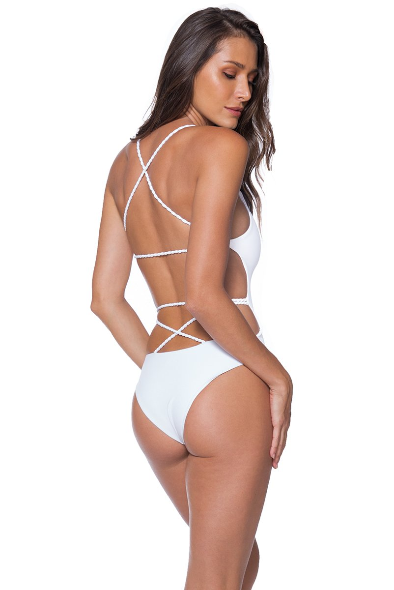 Panama One Piece White - shaymartian
