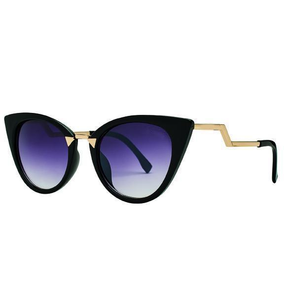 Bay Sky Womens Plastic Cat Eye Sunglasses - shaymartian