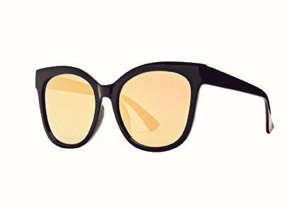 Bay Sky Womens Plastic Square Sunglasses with Mirrored Lense Sunglasses - shaymartian