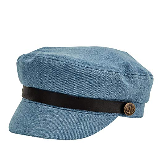 San Diego Women's Fishermans Denim Cap