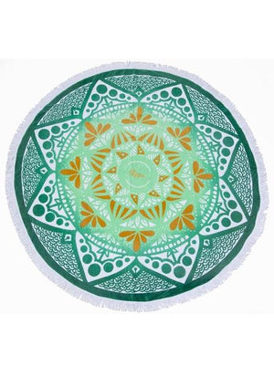 Slippa Round Towel Cape Verde