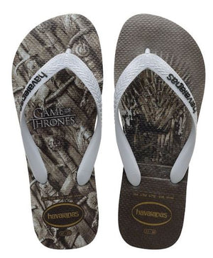 Havaianas Top Game of Thrones Steel Grey - shaymartian