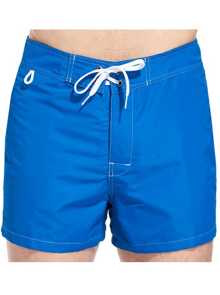 Sundek Mid-Length Ocean Blue Board Shorts - shaymartian