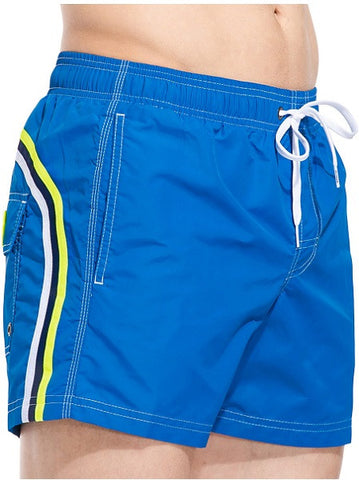 Sundek Mid-Length Ocean Blue Board Shorts
