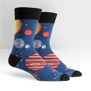 Sock it to me Men's Crew: Planets