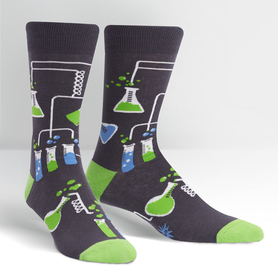 Sock it to me Men's Crew: Laboratory