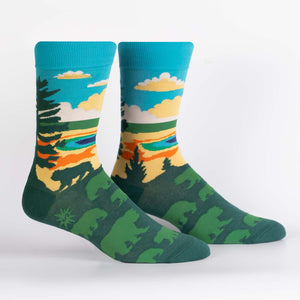 Sock it to me Men's Crew: Grand Prismatic