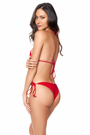 AYRA SWIM LYRA BOTTOM RED - shaymartian