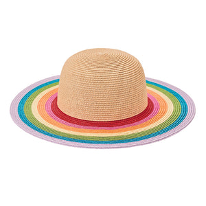 San Diego Kid's Rainbow Brim Floppy