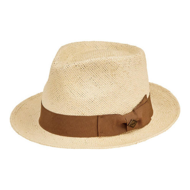 San Diego Men's Paper Fedora with Tacked Bow - shaymartian