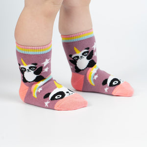 Sock it to me Toddler Crew: Pandacorn