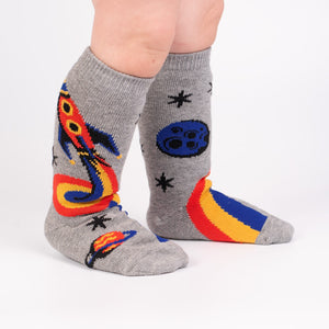 Sock it to me Toddler Knee: A Trip to the Moon