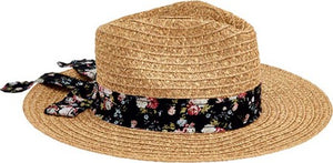 San Diego Women's Fedora with Novelty Bow Band