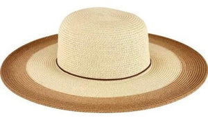 San Diego Women's Natural Sunbrim with Painted Color Pop - shaymartian