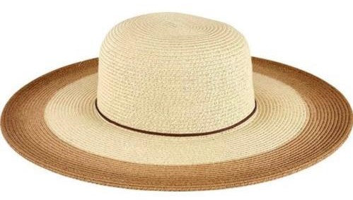 San Diego Women's Natural Sunbrim with Painted Color Pop