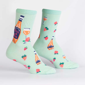 Sock it to me Women's Crew: Rose All Day