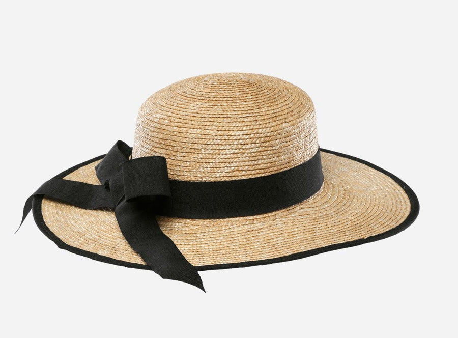 San Diego Women's Fine Straw Hat with Ribbon