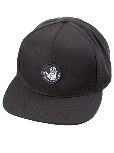 Body Glove Swingin Wide Black Trucker Cap