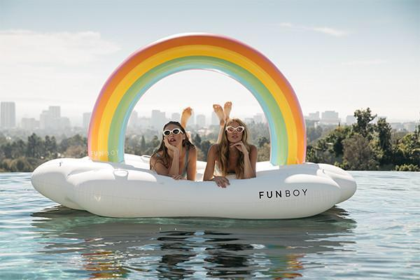 Fun Boy Rainbow Cloud Daybed - shaymartian