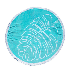 Slippa L Space Palm Round Towel