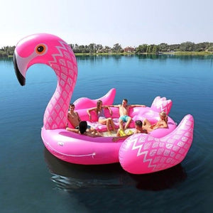 Giant Flamingo Float - shaymartian