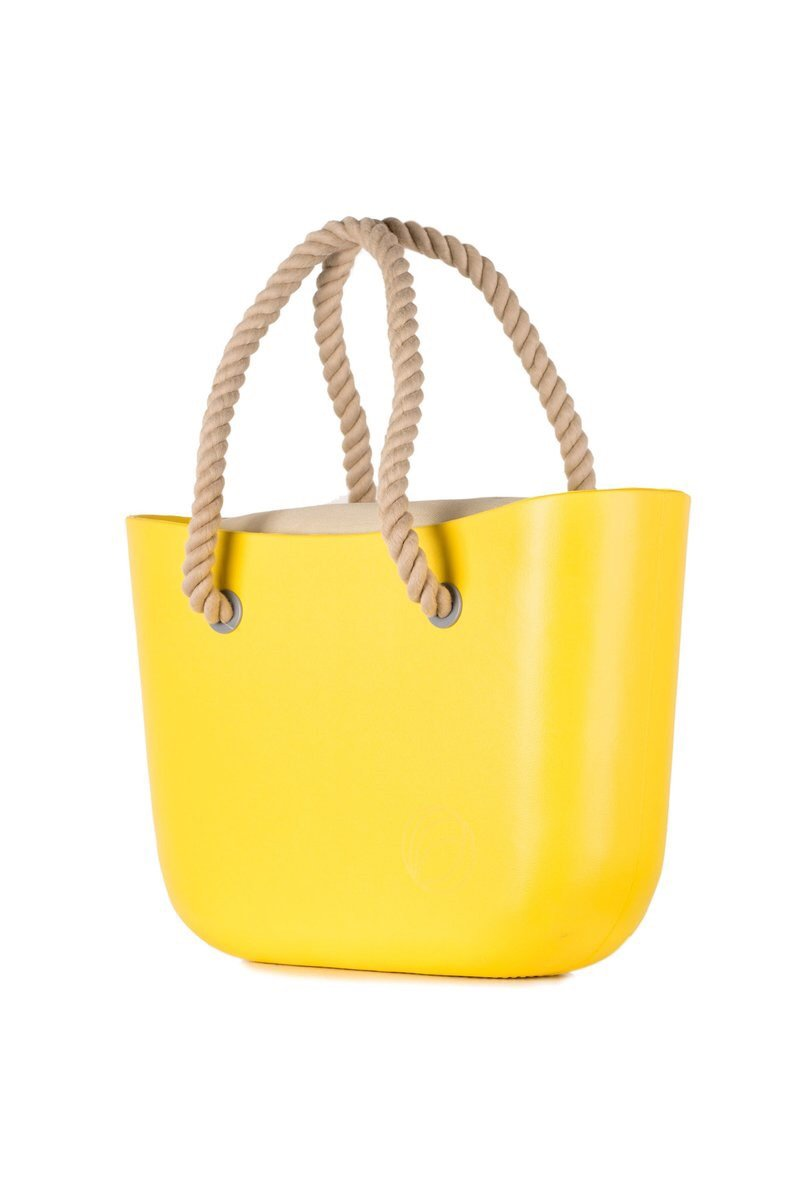 Mavele Yellow Beach Bag