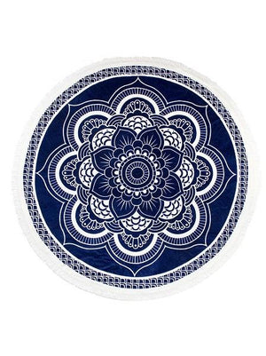 Slippa Round Towel Lotus