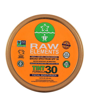 Raw Elements Tinted Face Moisturizer SPF 30+ - shaymartian
