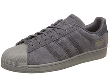 Load image into Gallery viewer, ADIDAS SUPERSTAR GREY SUEDE