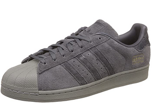 ADIDAS SUPERSTAR GREY SUEDE