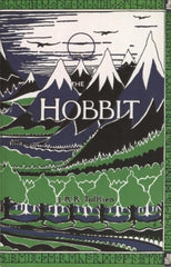 Tolkien The Hobbit Book Cover