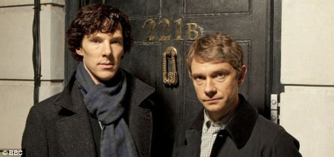 Pictures of Holmes and Watson from BBC's Sherlock