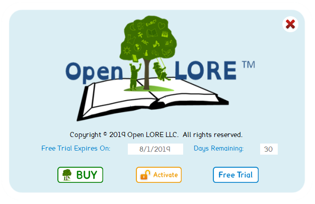 Open LORE™ Read 1.5 Free Trial
