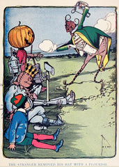 The Marvelous Land of Oz Illustration