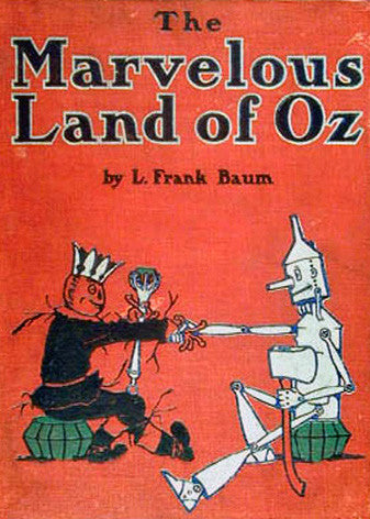 The Marvelous Land of Oz Cover