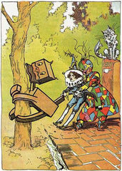 The Patchwork Girl of Oz Illustration